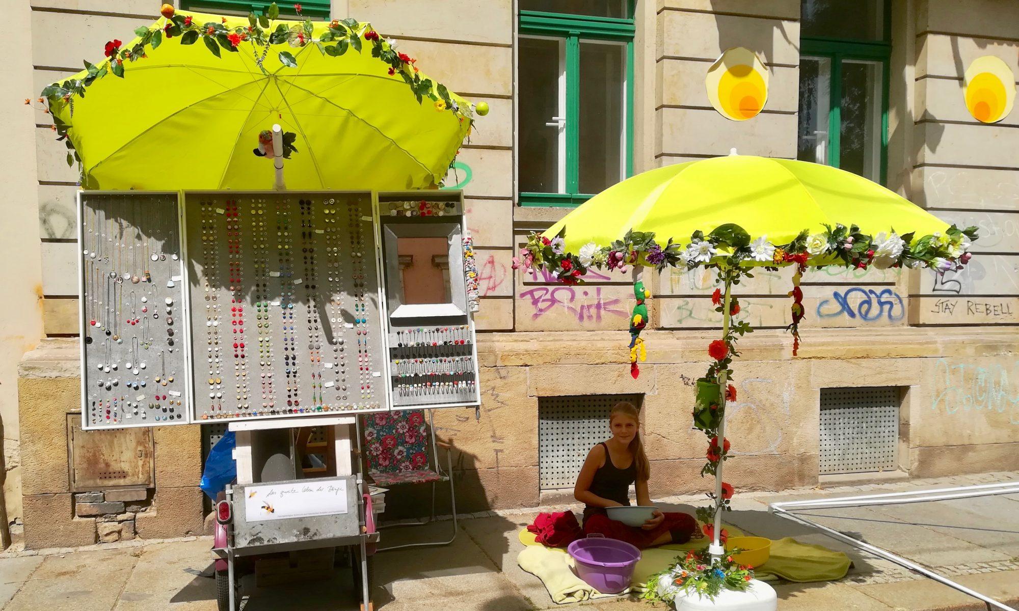 Marktstand zur BRN Dresden